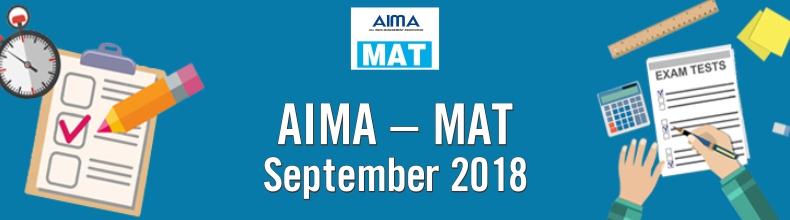 AIMA MAT2018